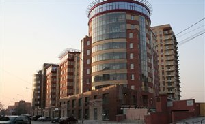 административно-жилой комплекс в Тюмени «Серебряковский квартал»
